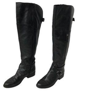 Nine West OTK Black Portiao Boots size 9